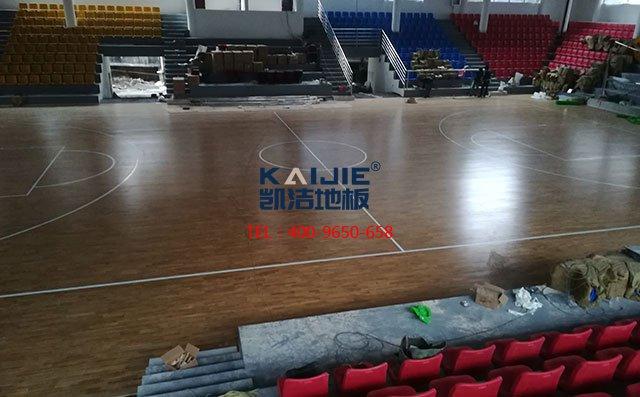 羽毛球场馆木地板哪个品牌好——凯洁地板