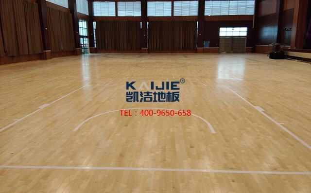 室内羽毛球运动地板价格及图片——篮球场木地板