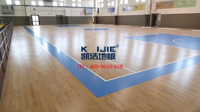 篮球馆运动木地板龙骨施工工艺——体育馆木地板