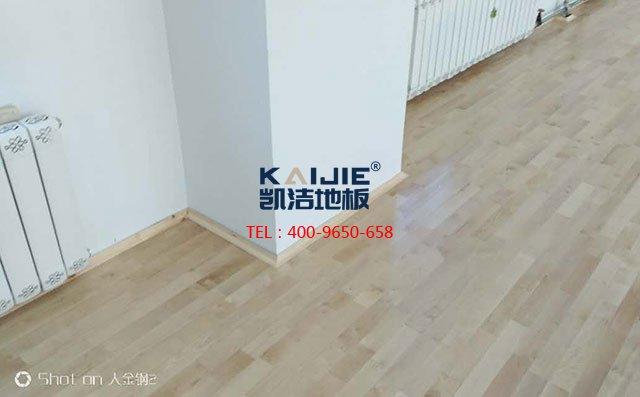 助力中国体育地板 加油中国篮球——凯洁地板