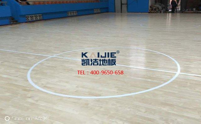 助力中国体育地板 加油中国篮球——体育地板品牌