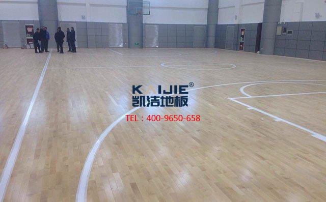 体育馆运动木地板施工为什么要留伸缩缝——凯洁地板