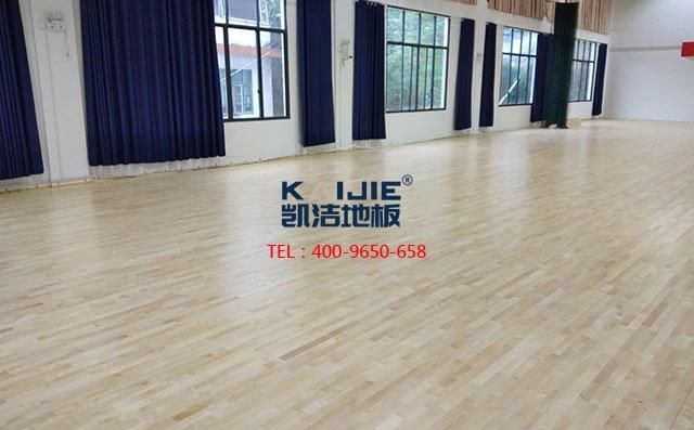 体育地板厂家如何保障实木运动地板质量——凯洁地板