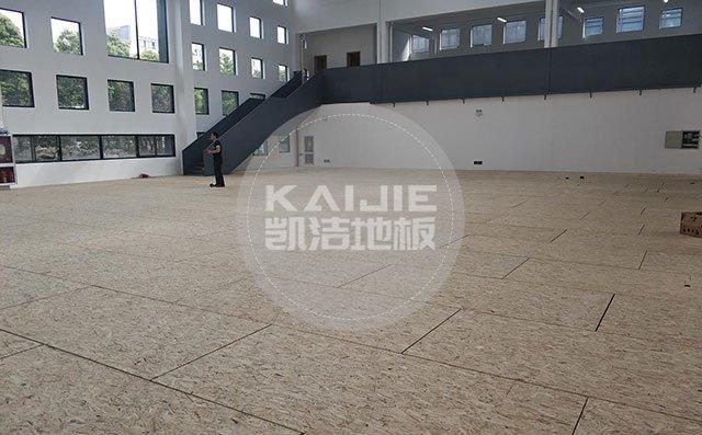 室内篮球场运动木地板施工方案——体育馆木地板