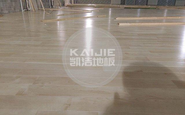 篮球馆实木地板哪个品牌好——凯洁地板