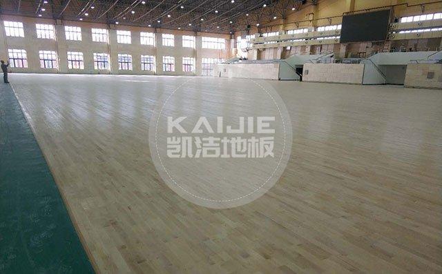 体育馆运动木地板施工计划——篮球场木地板厂家