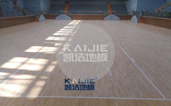 安阳篮球运动地板厂家 体育木地板报价——凯洁地板