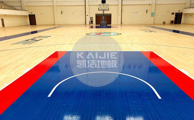 室内体育实木运动木地板 运动地板品牌——凯洁地板