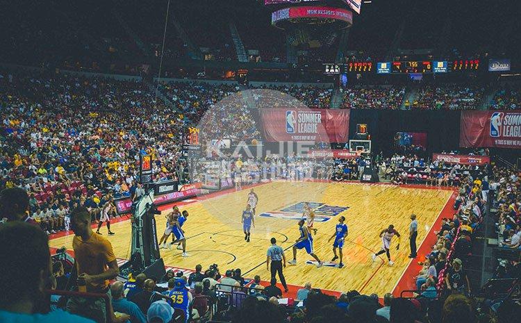 职业篮球比赛场地专用运动木地板品牌——凯洁地板