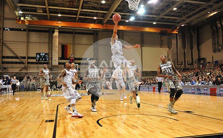 职业篮球比赛场地专用运动木地板品牌——体育馆木地板