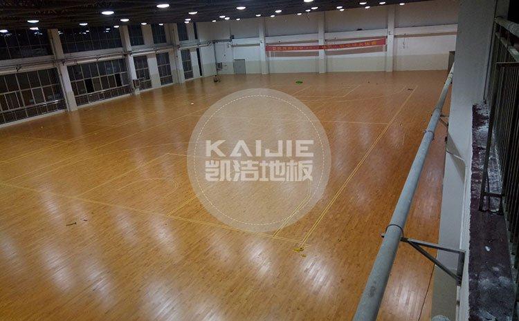 怎么选购优质体育木地板?健身房木地板价格——凯洁地板
