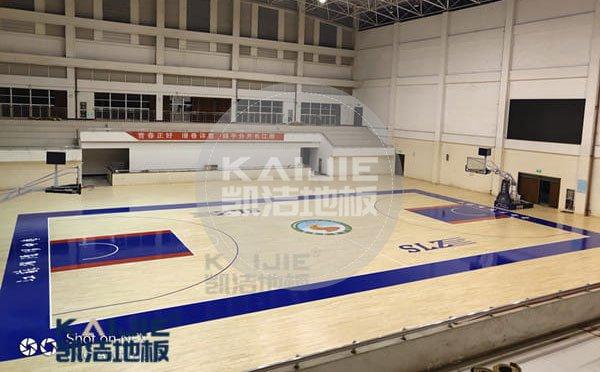 体育场馆木地板结构怎么处理——凯洁地板