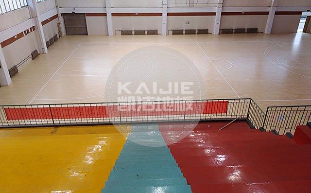 体育馆实木运动地板怎么选材和安装——篮球馆木地板厂家