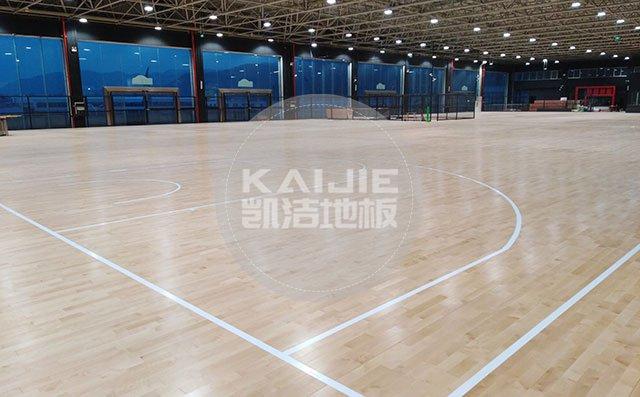 篮球场体育木地板有哪些事情不能做——凯洁地板