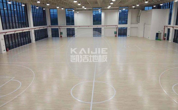 乒乓球场地专用木地板厂家哪个好——凯洁地板