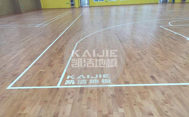 运动木地板保养技巧小窍门——凯洁地板