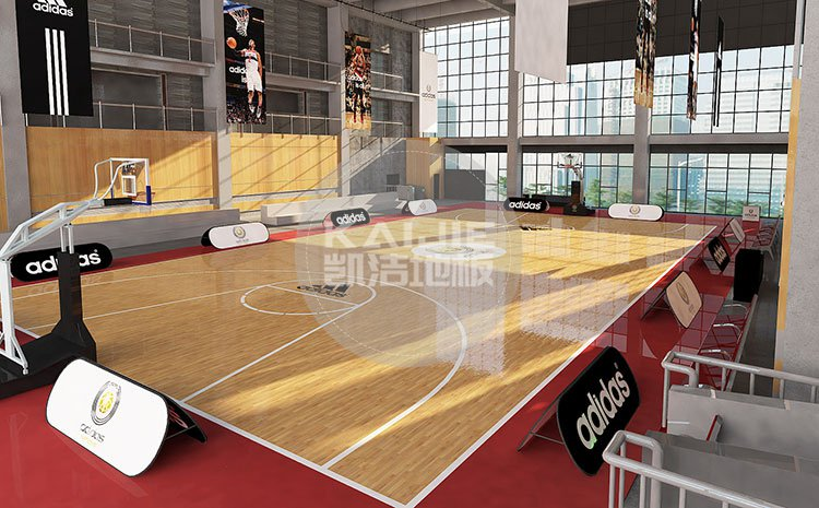 体育馆实木地板铺装后容易出现哪些问题——凯洁地板