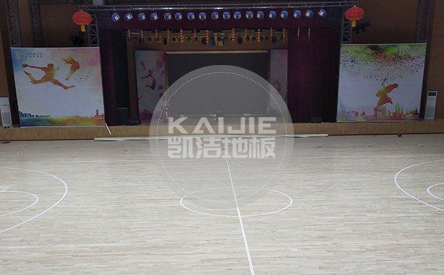 体育馆运动木地板的施工工艺——凯洁地板
