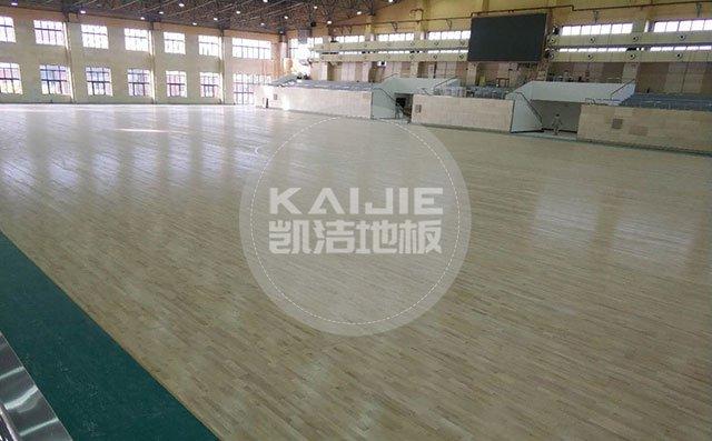 专业运动场木地板生产厂家——凯洁地板