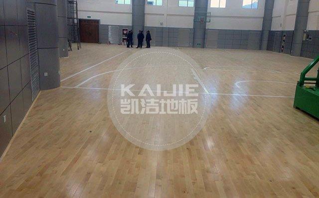 篮球场木地板场地造价——凯洁地板