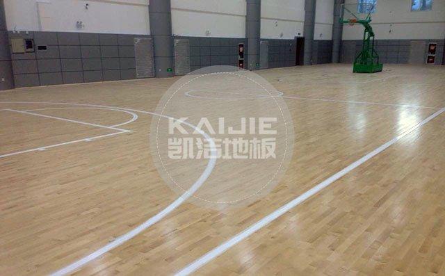 篮球场木地板场地造价——体育馆木地板价格