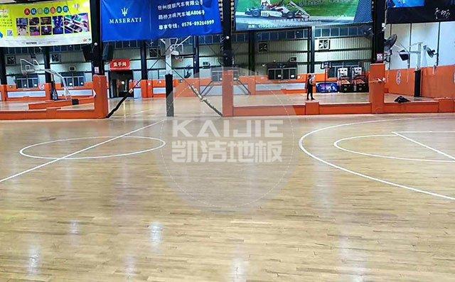 2019体育运动场馆运动木地板厂家标准——凯洁地板