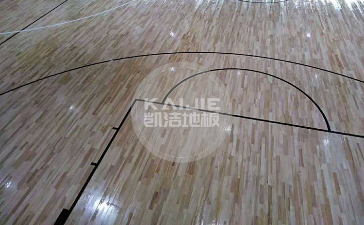 体育馆运动木地板厂家标配是什么——篮球场木地板