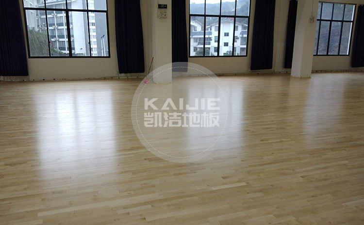 广州体育馆木地板哪个牌子好——凯洁地板