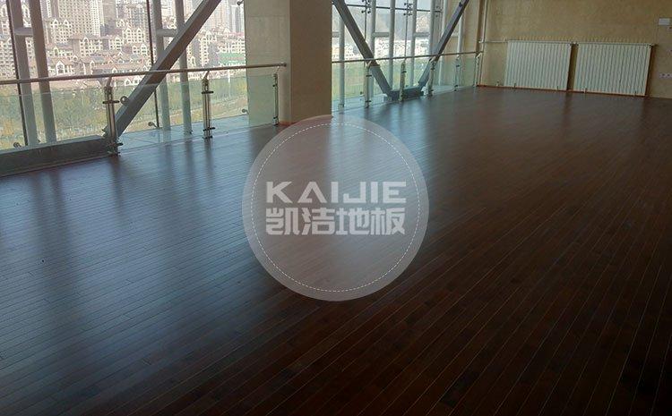 体育馆运动木地板厂家哪家施工好——凯洁地板
