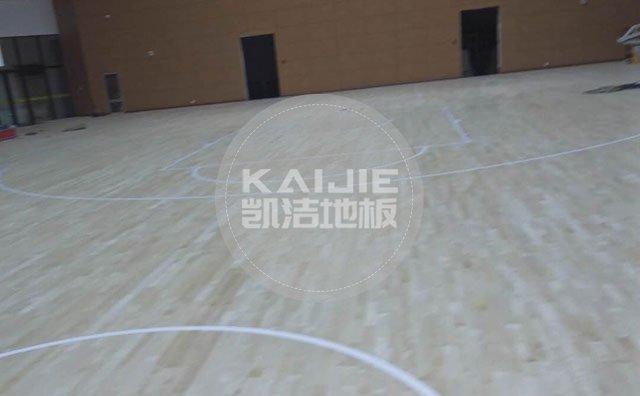 体育场馆实木运动地板如何养护——凯洁地板