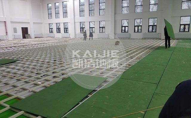 体育场馆木地板主要使用哪些材料——凯洁地板