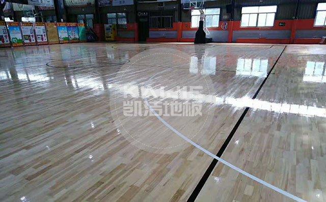 体育馆木地板品牌哪家质量好——凯洁地板