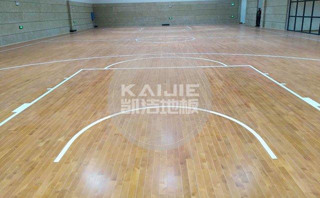 实木运动地板怎么维护——篮球馆木地板厂家