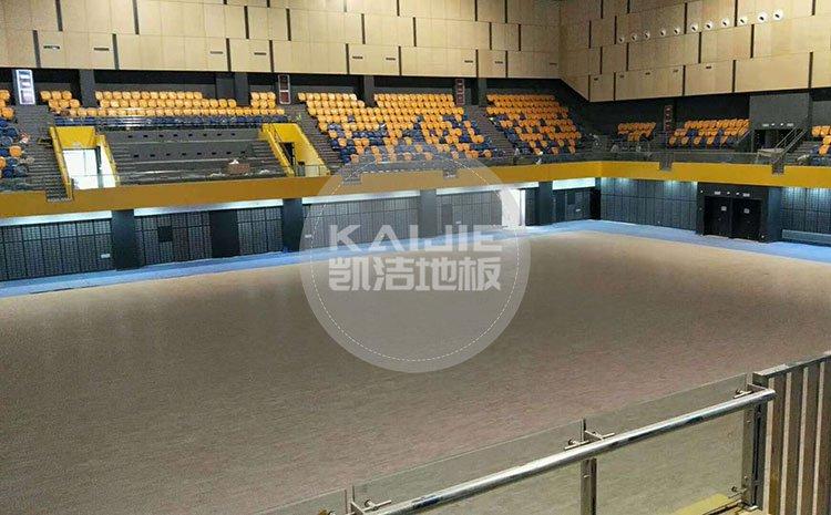体育馆木地板有哪些结构——凯洁地板