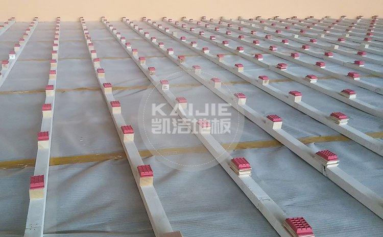 江西九江彭泽体育馆运动木地板项目——凯洁地板