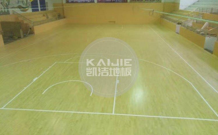 江西九江彭泽体育馆运动木地板项目——体育馆木地板品牌