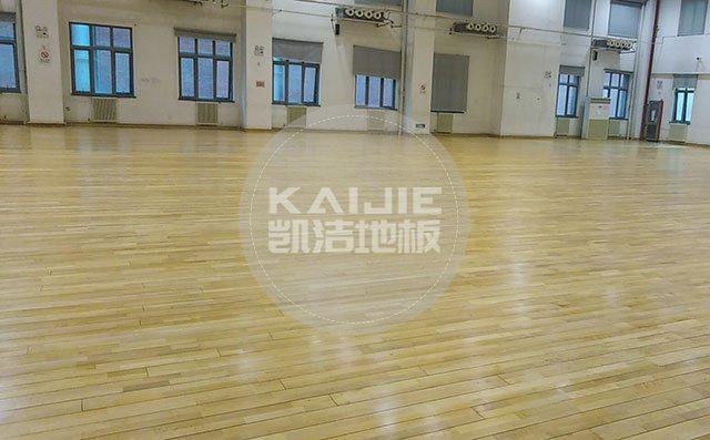 国内体育馆运动木地板哪家质量好——凯洁地板品牌