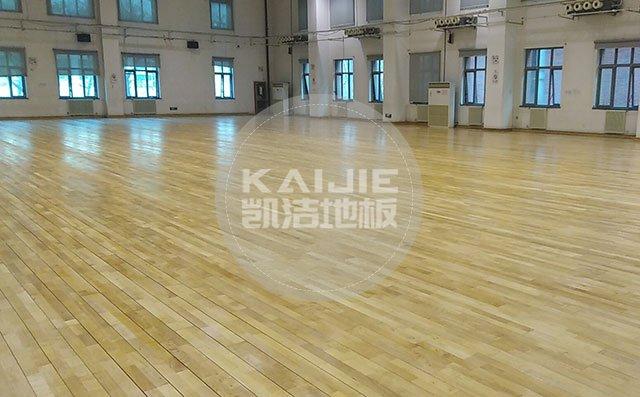 体育馆实木地板品牌哪家好——凯洁地板