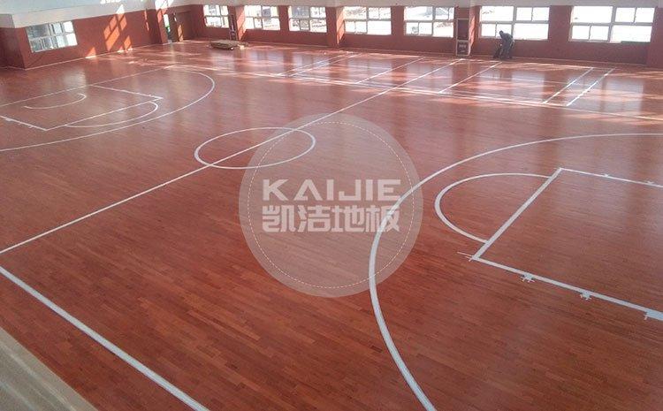 体育馆运动木地板都有哪些价位——凯洁地板