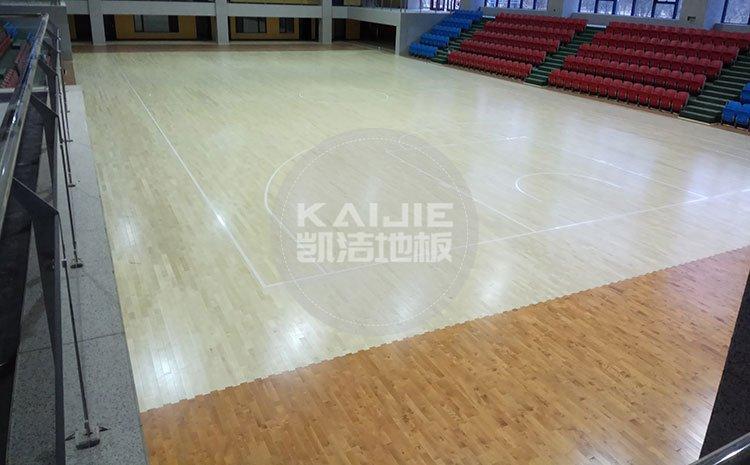 广州体育馆地面材料厂家哪家好——凯洁地板