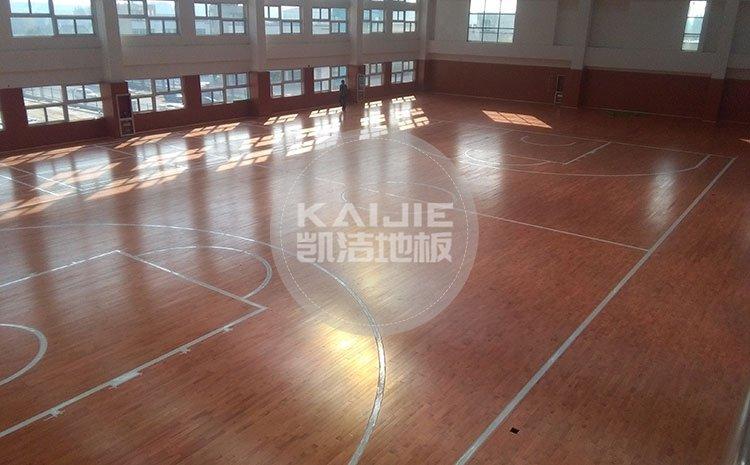 体育运动地板怎么保养效果好——凯洁地板