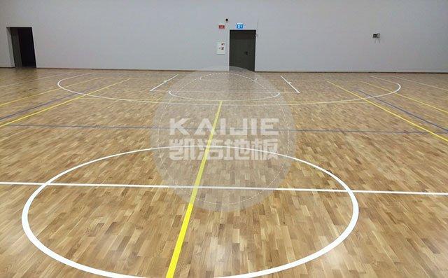 体育馆木地板铺装需要预留伸缩缝吗——凯洁地板
