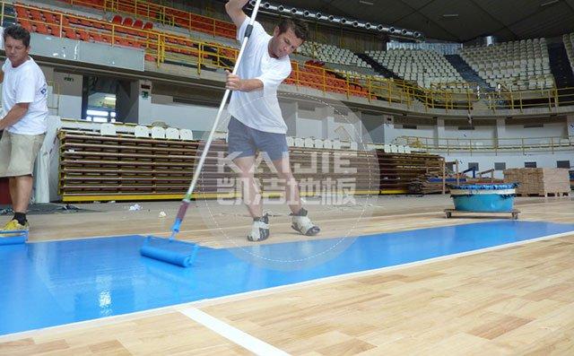 体育馆运动木地板铺装过程需要注意什么——体育木地板厂家