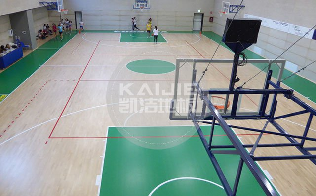 体育馆运动木地板施工前后需要做什么——体育地板厂家