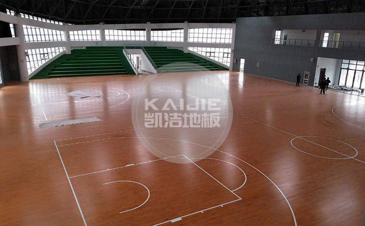 健身房运动场馆木地板漆面受损怎么处理——体育地板厂家