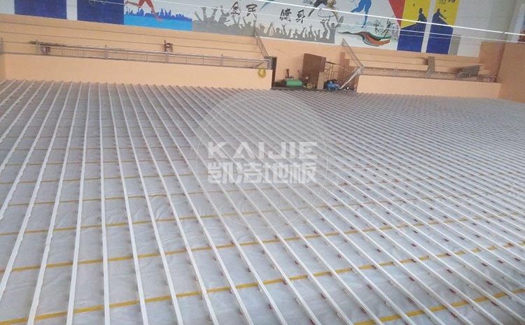 专业体育馆木地板保养需要注意什么——凯洁地板