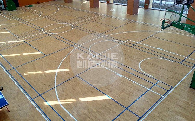 安装体育馆运动木地板,需要有哪些工具——篮球地板品牌