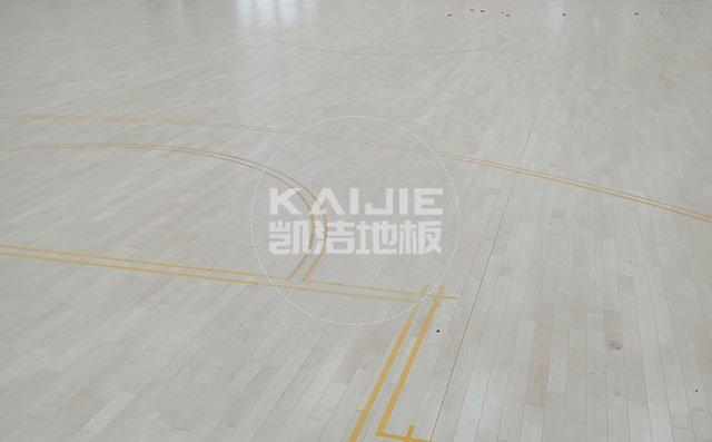 广州体育运动场馆木地板哪家质量好——凯洁地板