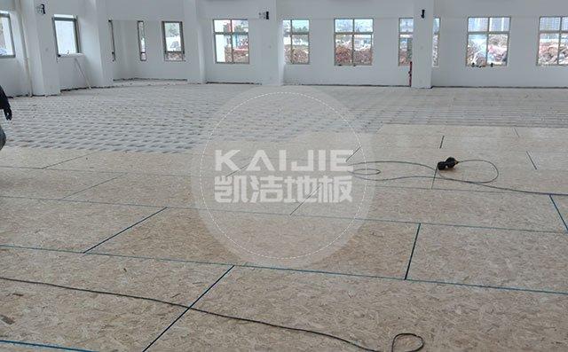 篮球场馆木地板哪个品牌好——凯洁地板