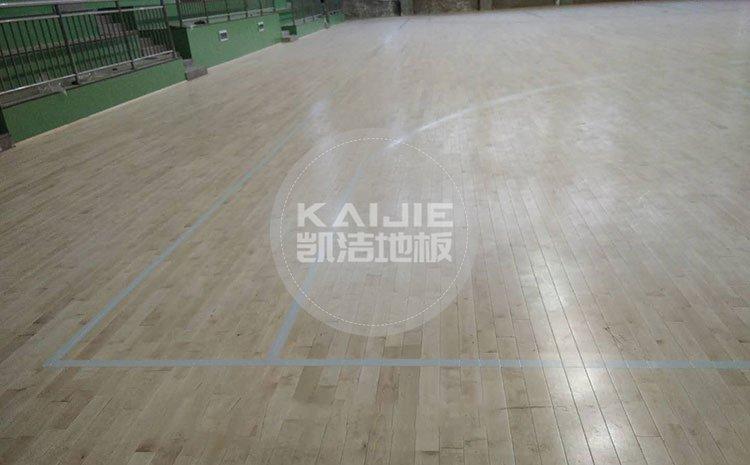 体育馆运动木地板色差能控制吗——凯洁地板